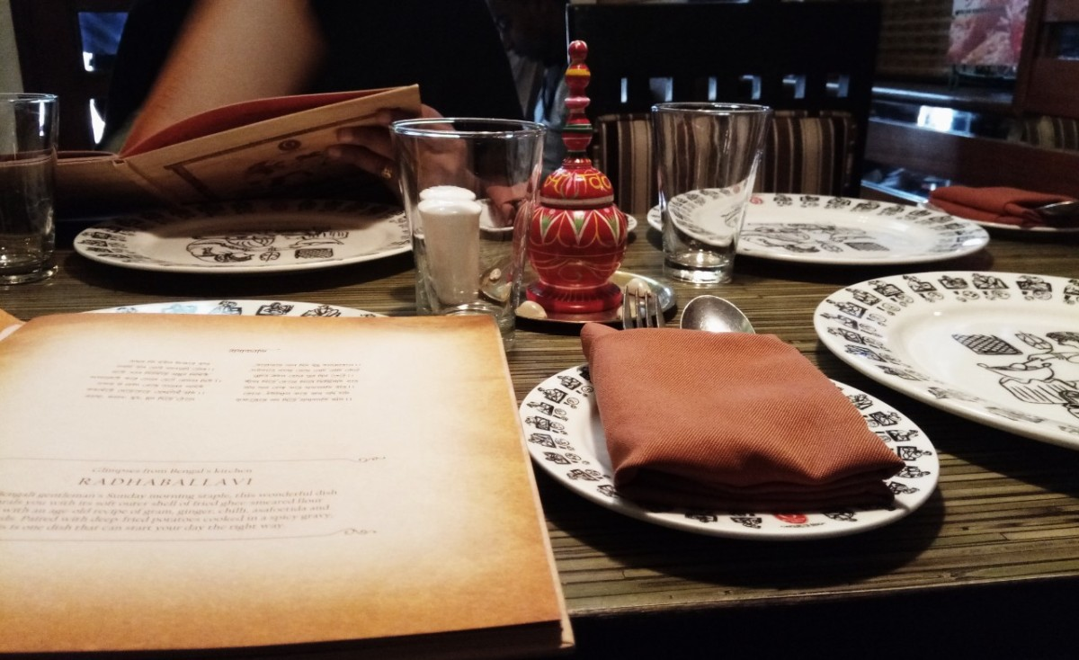 Restaurant review – 6,Ballygunge Place, Salt Lake, Kolkata