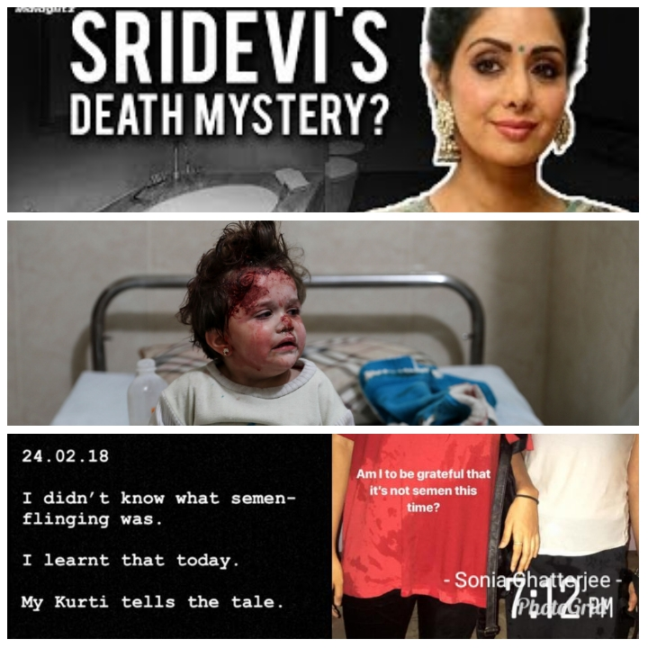 Sridevi, Syria and Semen – the shocking existential scenarios