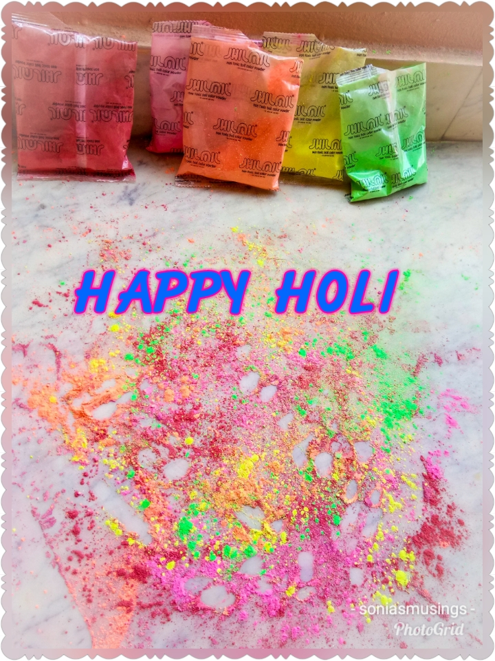 Wishes for a Happy and Colourful Holi
