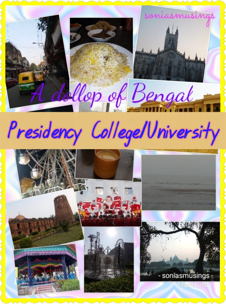 A dollop of Bengal – Presidency College/University