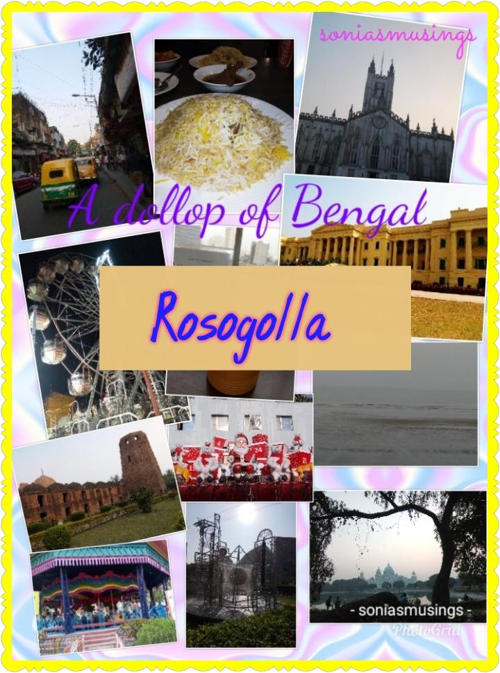 A dollop of Bengal –Rosogolla