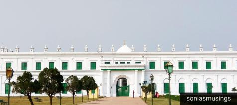 Central view of Imambara