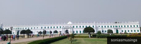 Imambara from the side of Hazarduari