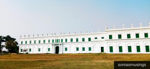 Imambara - left sided view
