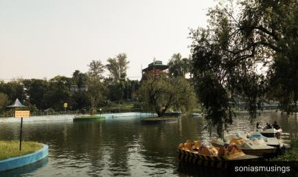 Nicco Park Boating Lake