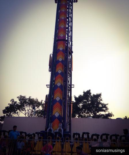 Nicco Park Free fall ride