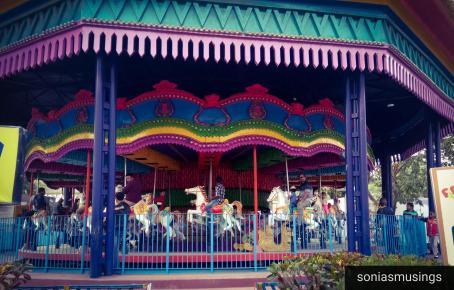Nicco Park merry go round