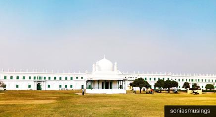 Panoramic view of Imambara