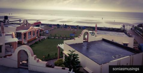 View from Aqua Marina