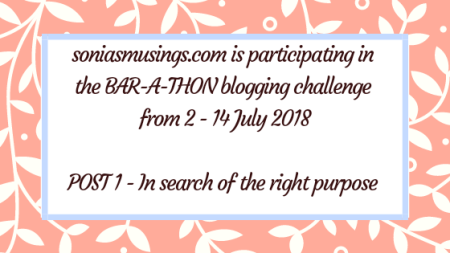 In search of the right purpose - Bar-A-Thon