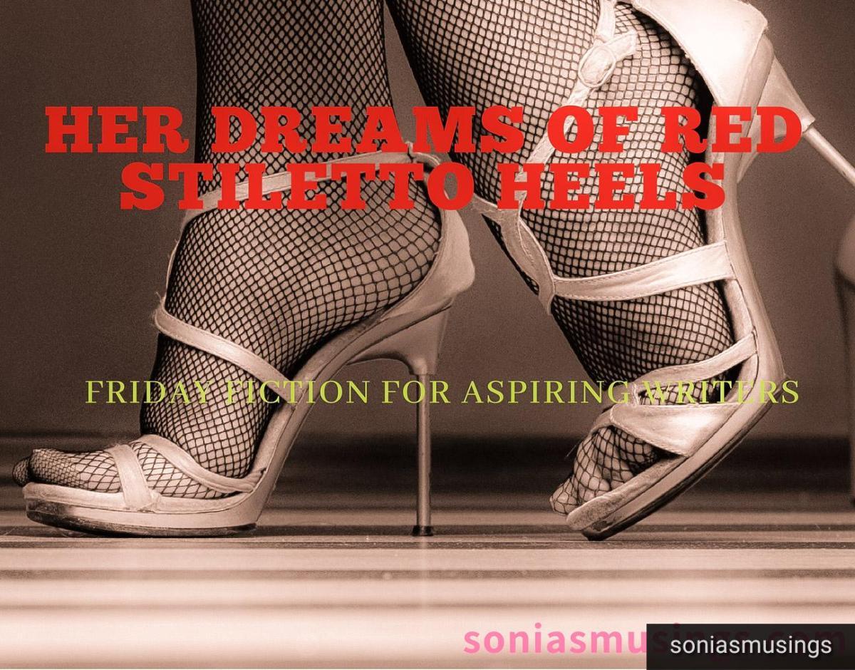 Her dreams of red stilettoheels