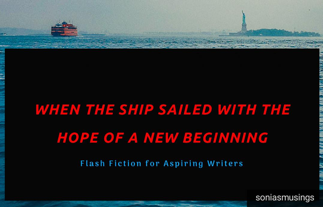 When the ship sailed with the hope of a newbeginning