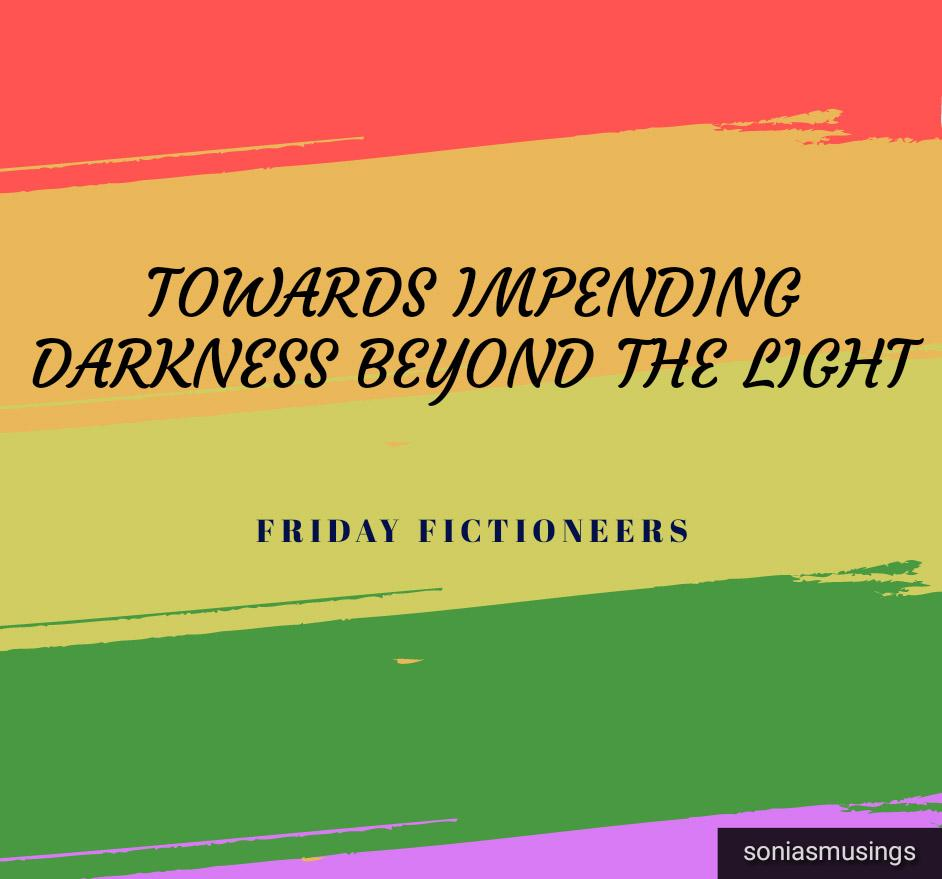 Towards impending darkness beyond the light