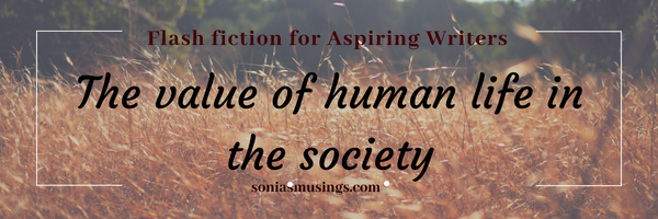 The value of human life in the society