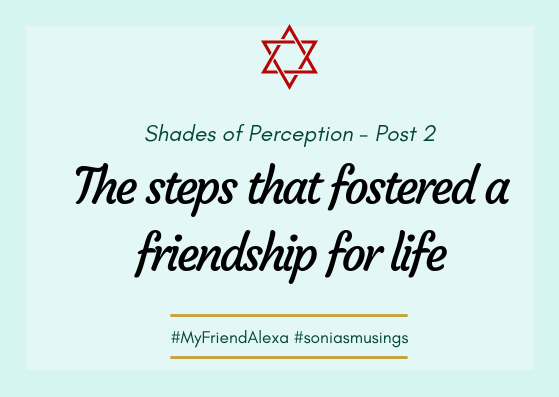 The steps that fostered a friendship for life