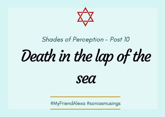 Death in the lap of thesea