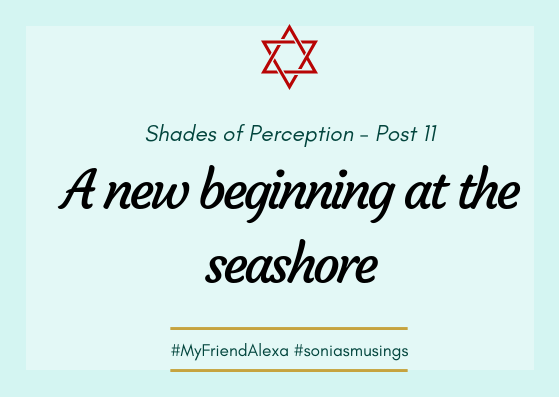 A new beginning at the seashore