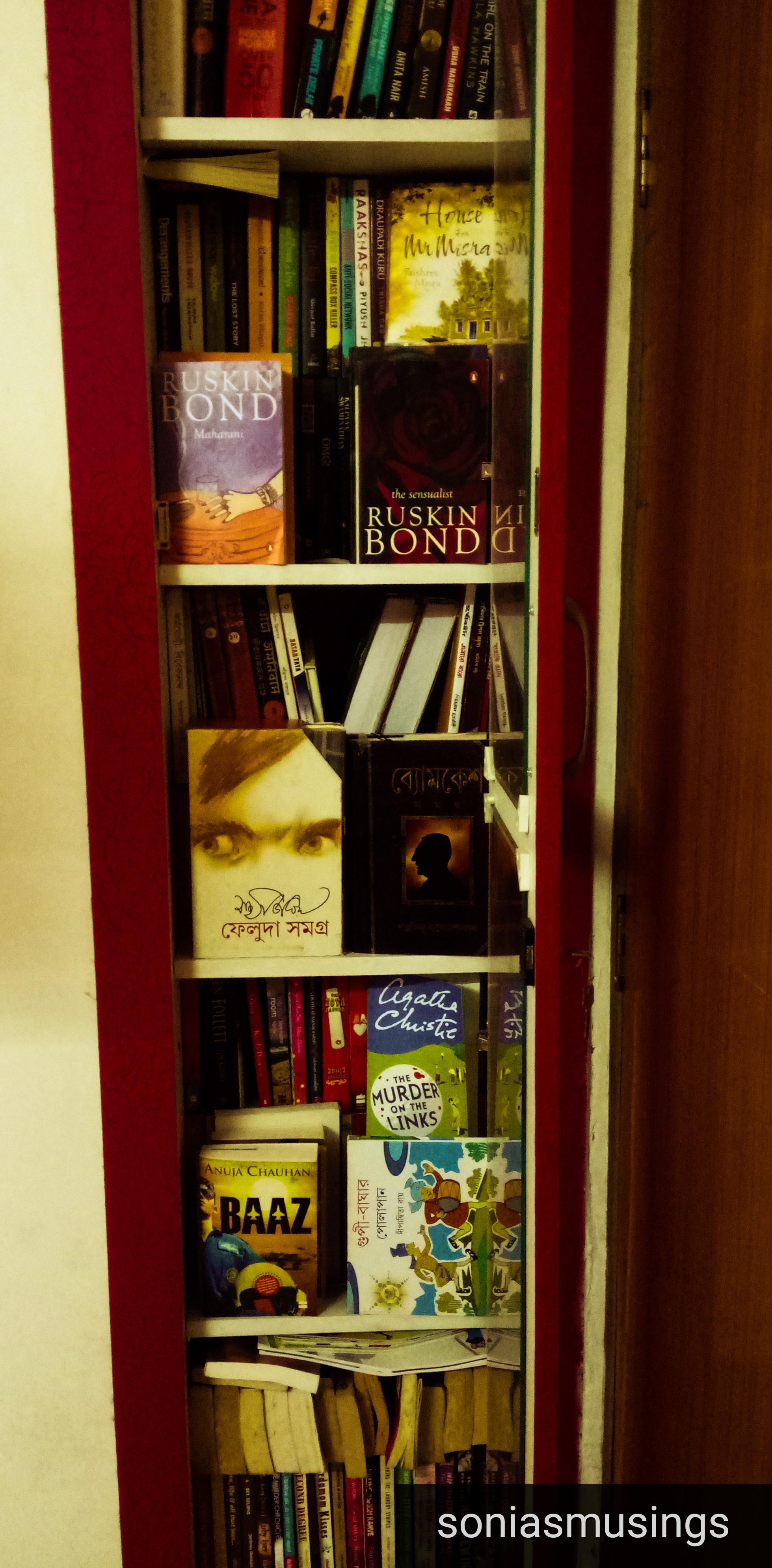 Books, emotions and memories over the years