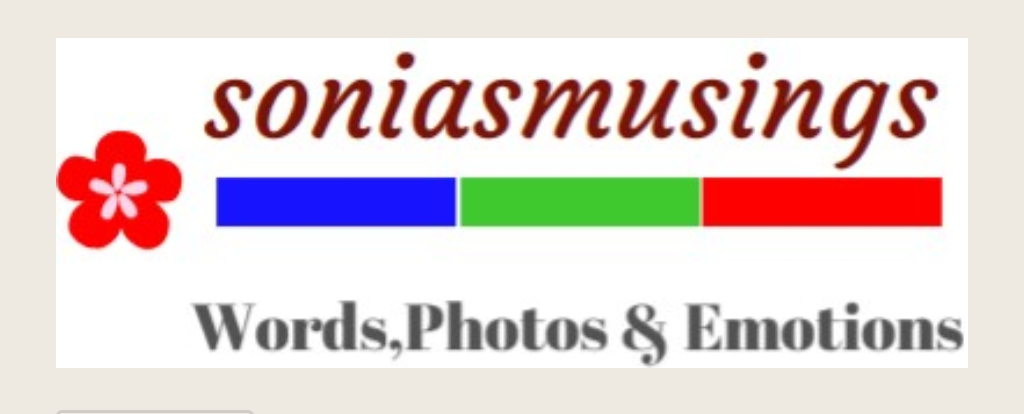 The logo of soniasmusings.com