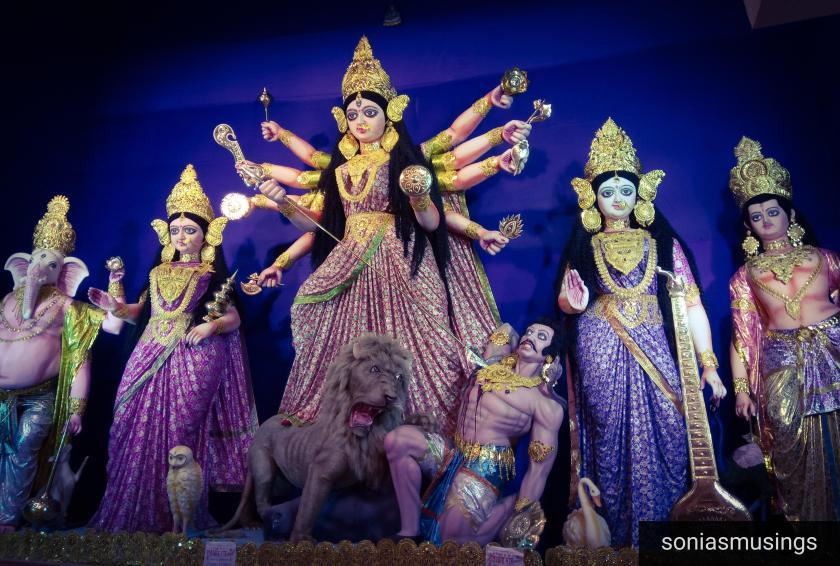 Bhattacharya Para Puja