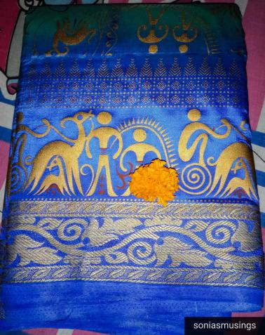 Saree as a gift