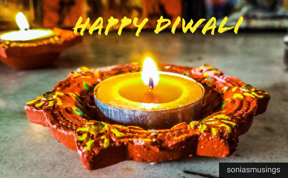 Happy Diwali and update on NaNoWriMo