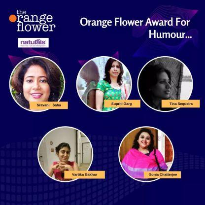 Orange Flower Award shortlist - Category :Travel writing