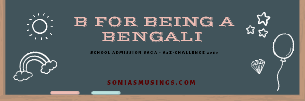 B for being a Bengali