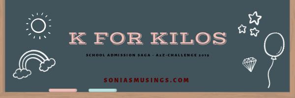 K for Kilos