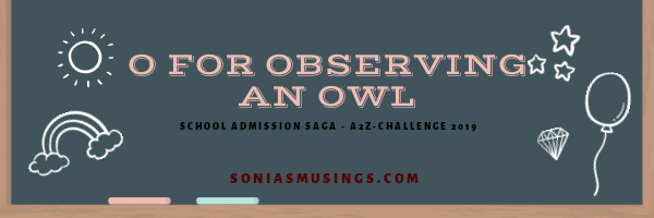 O for observing an owl