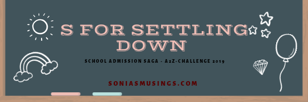 S for Settling Down