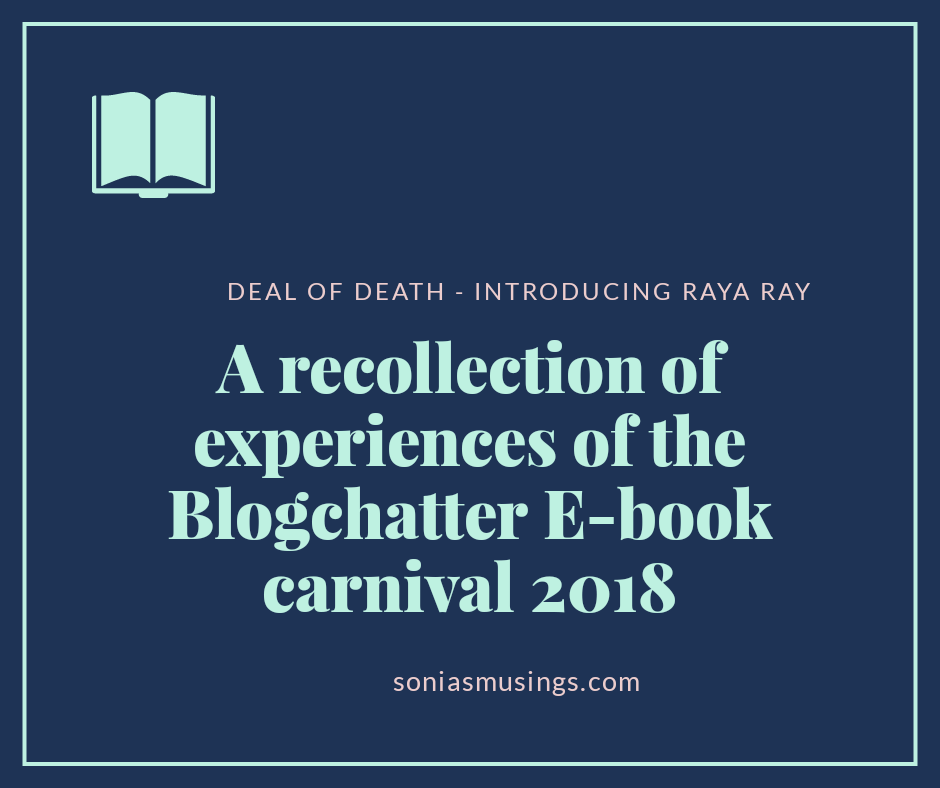 A recollection of experiences of the Blogchatter E-book carnival 2018