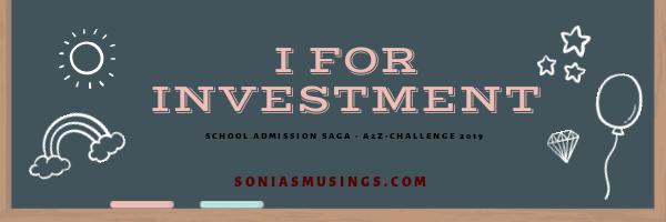 I for Investment