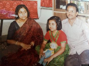 Life before teh era of photoshop - with my parents
