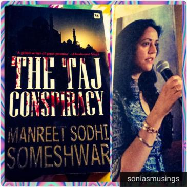 The Taj conspiracy by author Manreet Sodhi Someshwar