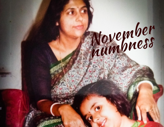 November numbness – when grief knocks at thedoor