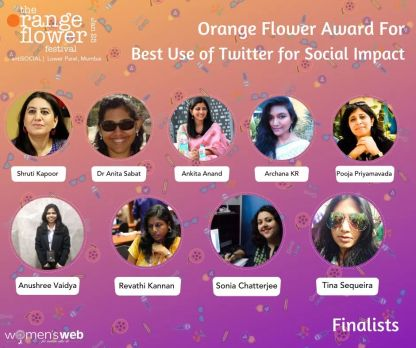 Finalist in the category of 'Best use of Twitter for Social Impact'