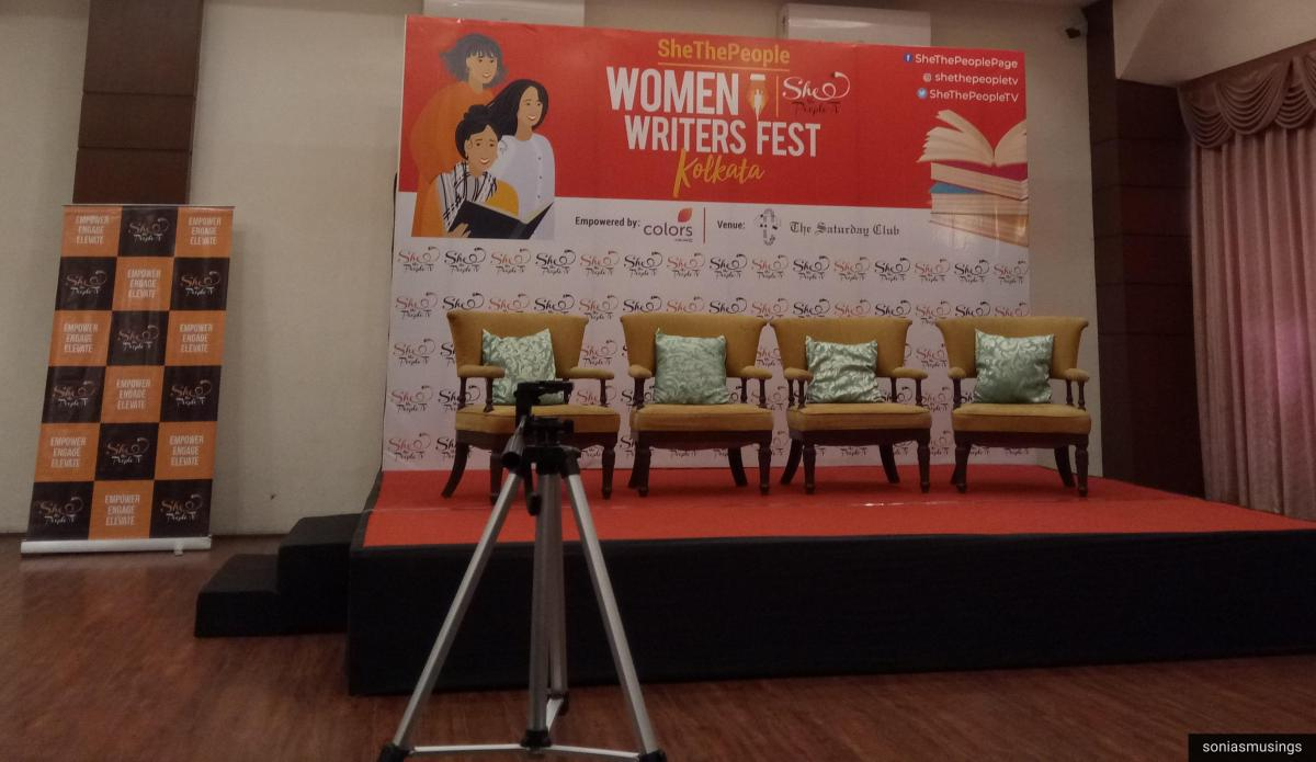 Snippets from the Thriller Writers' Panel Discussion at the Women Writer's Fest, Kolkata