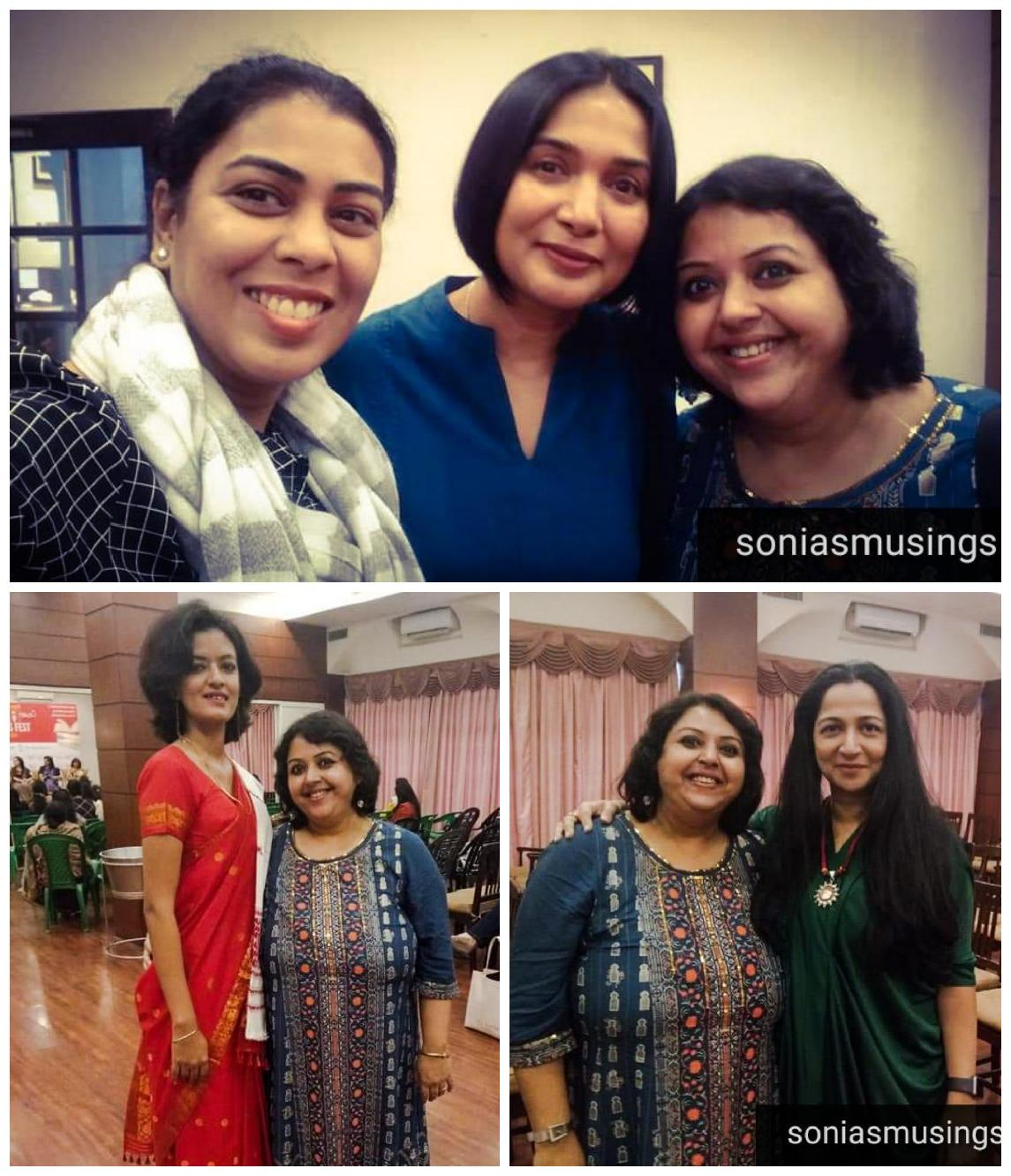 Meeting Anupriya, Damyanti, Paromita and Kiran Manral