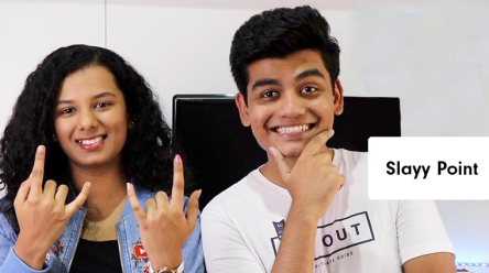 Abhyuday and Gautami from Slayy Point- Source socialsamosa