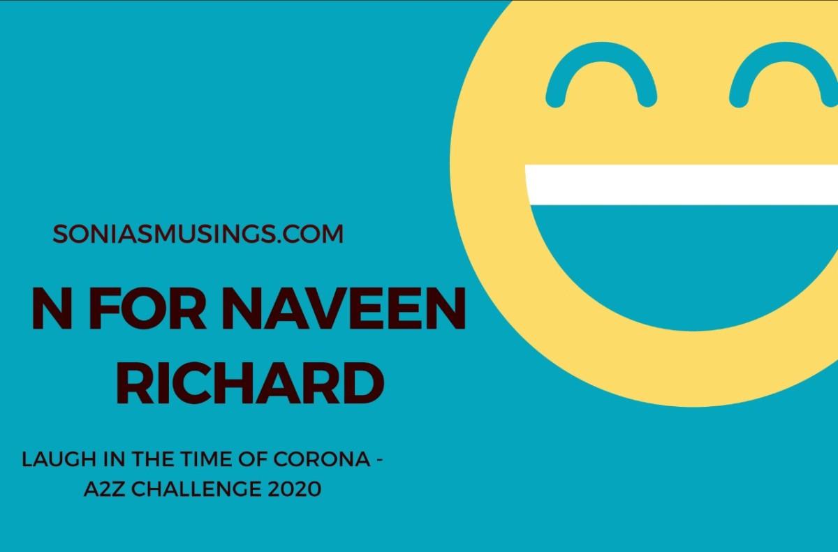 N for NaveenRichard