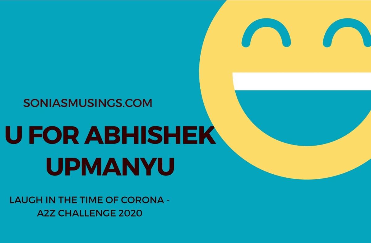 U for AbhishekUpmanyu