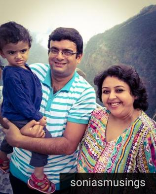 At Cherrapunji in happier times