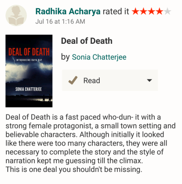 Review by Radhika Acharya