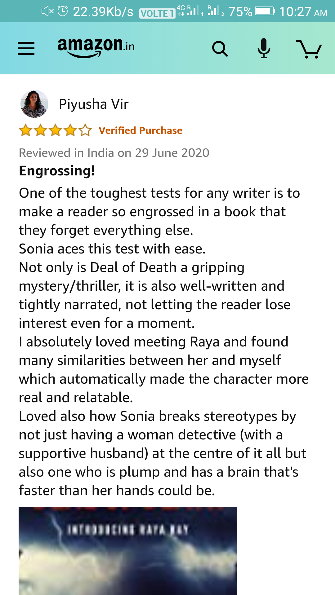 Review by Piyusha Vir