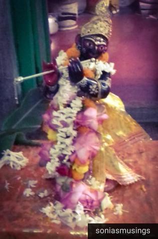 The family deity of Lord Krishna