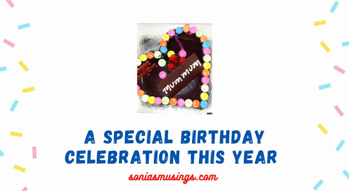 A special birthday celebration thisyear!