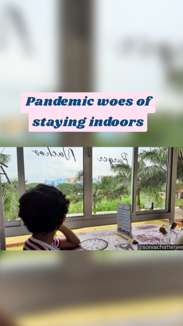 Pandemic woes of staying indoors